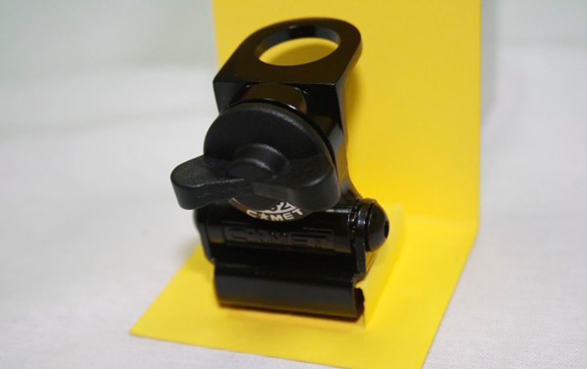RS-020-B COMET Soporte mini maletero Articulado. Color: Negro