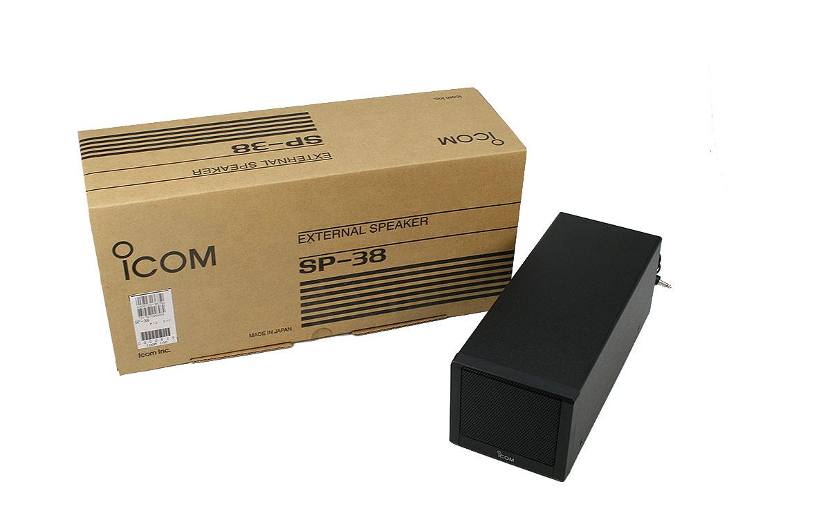 sp38 icom altavoz externo para ic-7300 y ic-9700