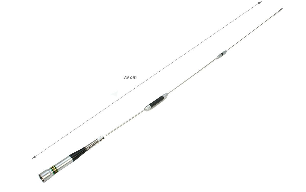 nagoya sp80p antena con muelle conector pl macho