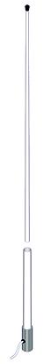 spark-cb-mll banten antena marina nautica cb 26 -29 mhz 3 dbi.longitud 2,40 mt.