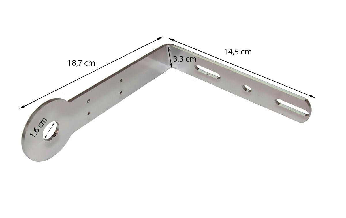 MIRMIDON SPM-60 Soporte acero inoxidable para DAF-RENAULT- MRECEDEZ