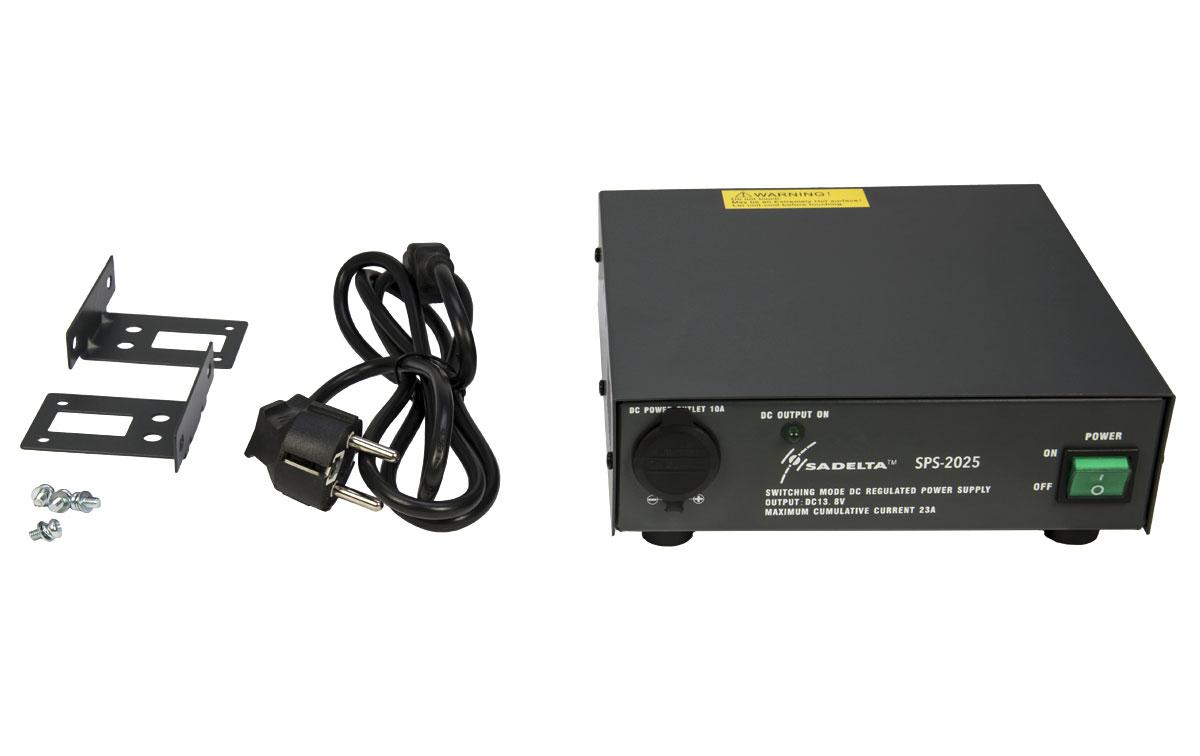 SADELTA SPS2025 Fuente Alimentación Conmutada 220 volt AC/13,8DC, 25 Amp.