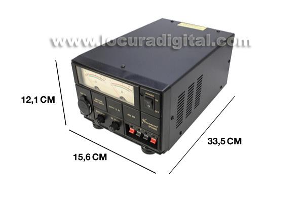 sadelta sps 5055 fuente alimentación conmutada 220v/13,8v. 50 55 amperios.