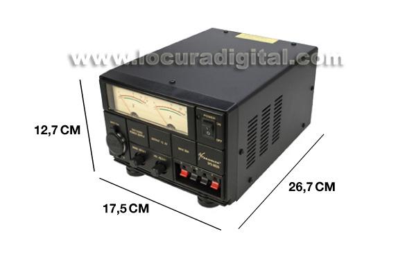 SADELTA SPS-3035 Fuente Alimentación Conmutada ajustable 10 a 16 voltios / 30-35 amperios.