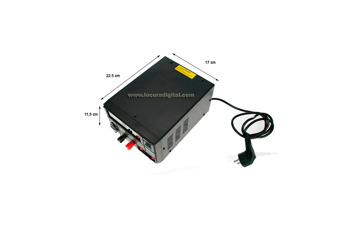 SADELTA SPS3036D Fuente de Alimentación digital conmutada 13,8 volts. 25 Amp.