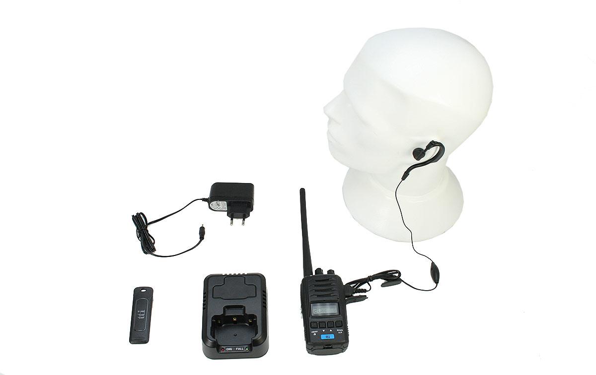 TTI TCB-H100 Walkie Talkie CB 27 Mhz con AM-FM Potencia 4 watios