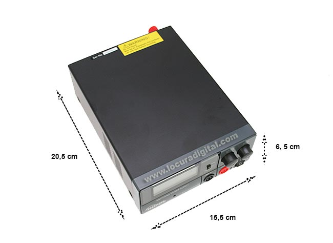 td14ss30d hoxin fuente alimentación conmutada 9 - 15 volts. 20 - 30 amp. display digital