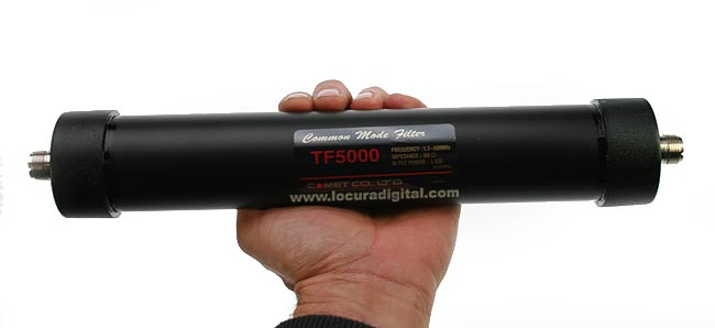 TF-5000 FILTER 1.3 to 500 MHz