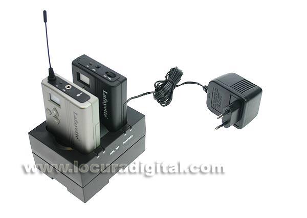 HDC7072 LAFAYETTE cargador doble para TGS-80T y TGS-80R