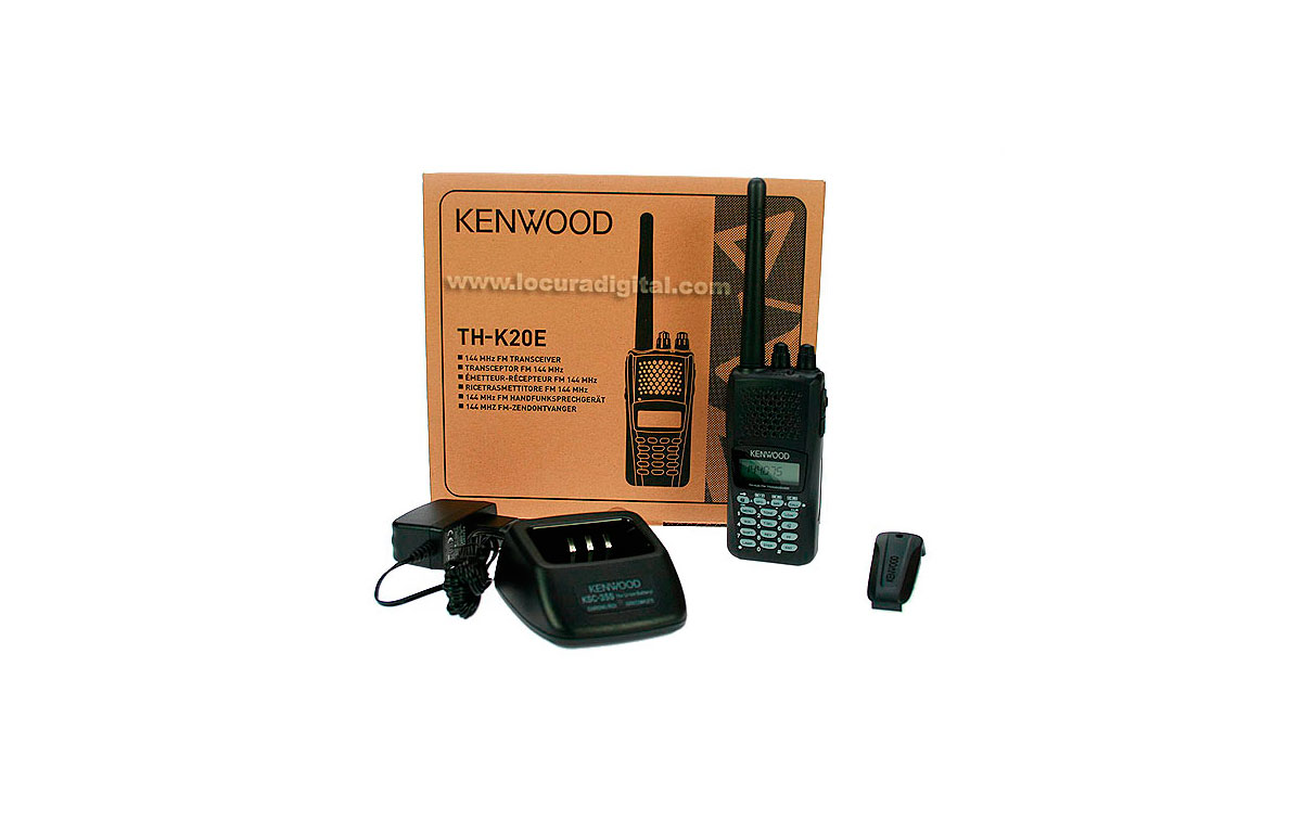 KENWOOD THK-20E  WALKIE  VHF 144- 146  Mhz