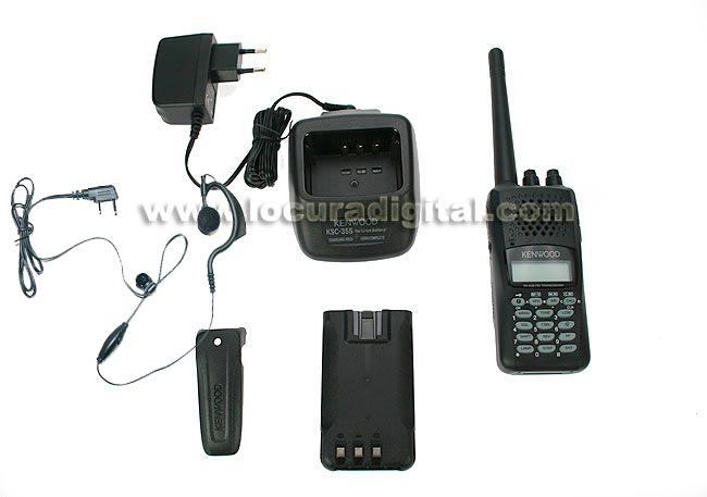 KENWOOD THK-20E WALKIE VHF 144- 146 REGALO PINGANILLO PIN19 K