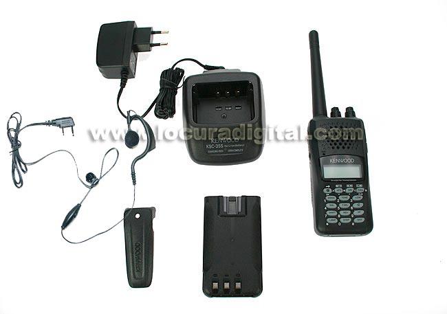 KENWOOD THK-20E WALKIE VHF 144- 146 REGALO PINGANILLO PIN19 K