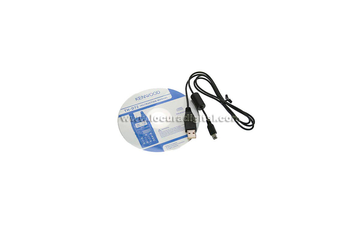 KENWOOD TH-D72 PC cable CD