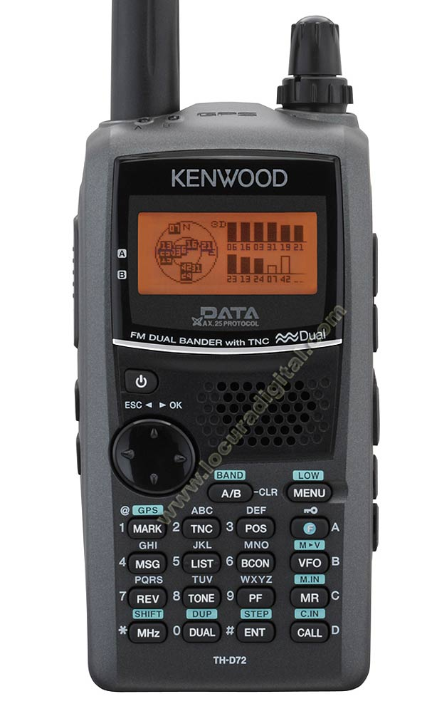 KENWOOD TH-D72E Transceiver