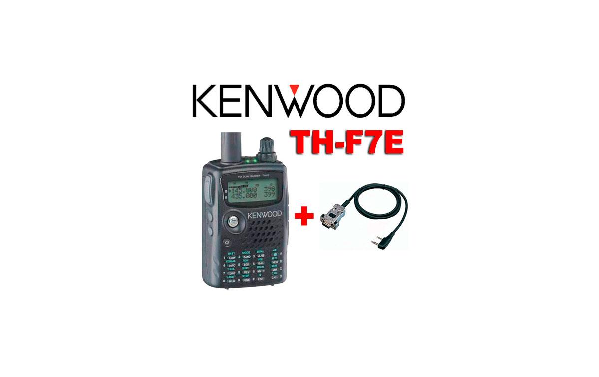 KENWOOD TH-F7E !! + CABLE DE PROGRAMACION !!
