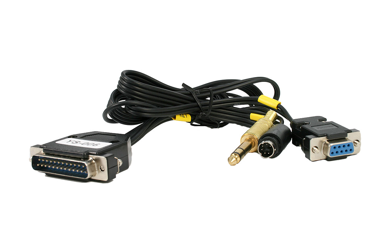 TIFT950 Cable para Yaesu FT-950, FT DX 1200, FT DX 3000, cable para el interface RigExpert TI-8