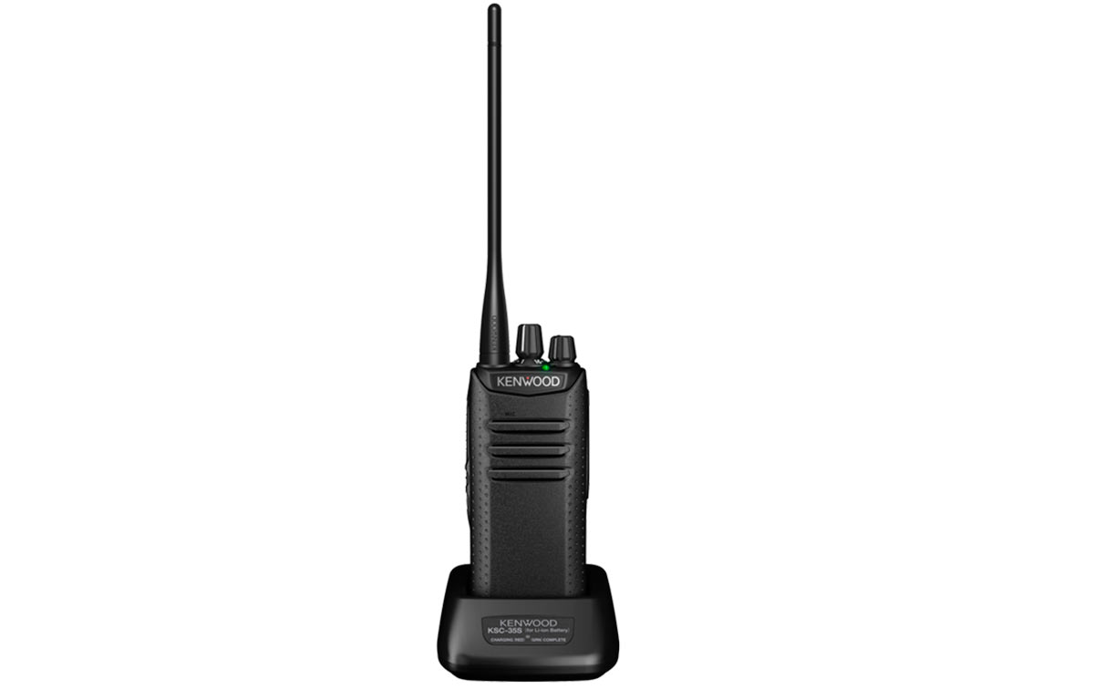 kenwood tk-d240e walkie vhf profesional 32 canales 146-174 mhz analógico - digital dmr