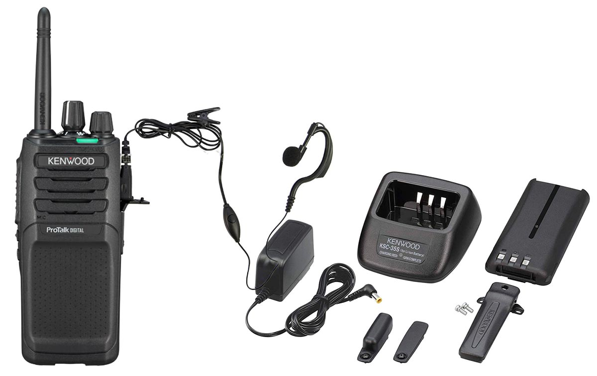 tk3701d kenwood walkie analógico-digital pmr446 uso libre