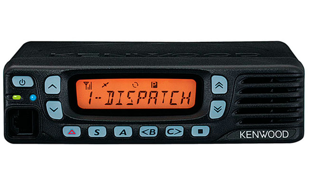 TK7360E KENWOOD Emisora móvil VHF, 146 - 174 Mhz. 128 canales, 5 - 25 wats