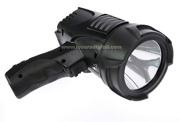 TL200 LAFAYETTE 3 action pistol flashlight, high luminosity 200 lumen