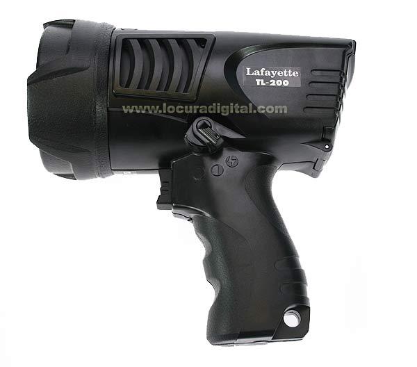LAFAYETTE TL200 Pistol Lanterna 3-a?, de alto brilho 200 Lumen