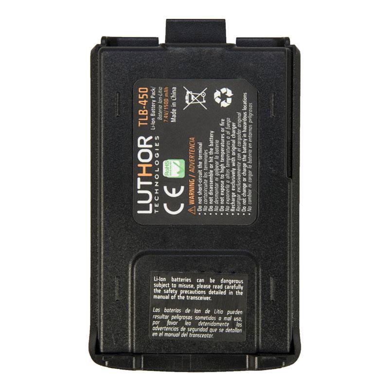 tlb 450 bateria litio para tl 50 capacidad 1500 mah