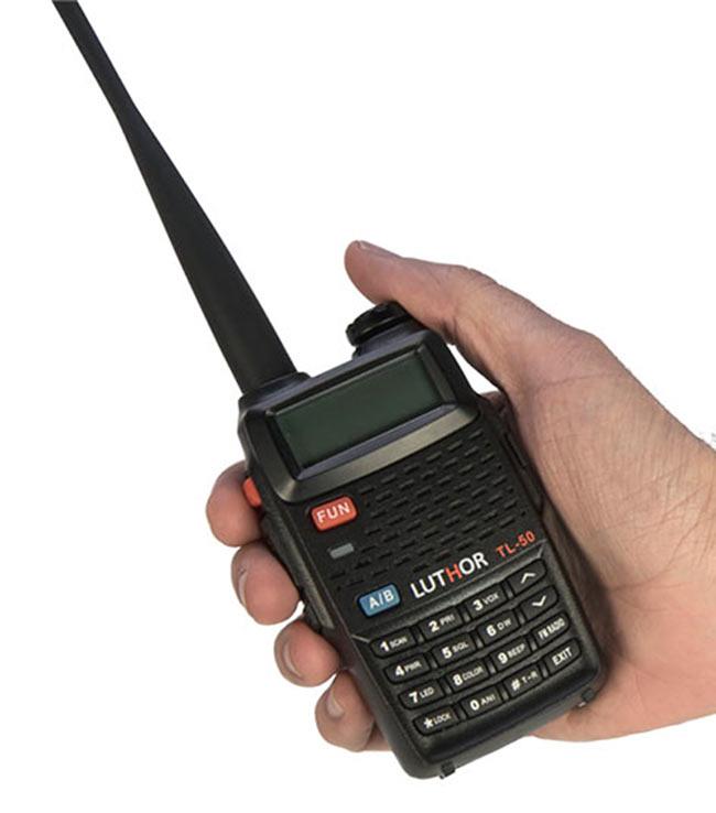 luthor tl 50 walkie doble banda vhf/uh 144/ 430 mhz
