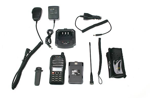 Walkie Talkie LUTHOR TL55 KIT3 DUALBAND VHF/UHF