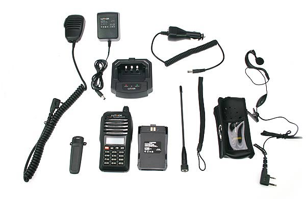Walkie Talkie LUTHOR TL55 KIT4 DUALBAND VHF/UHF
