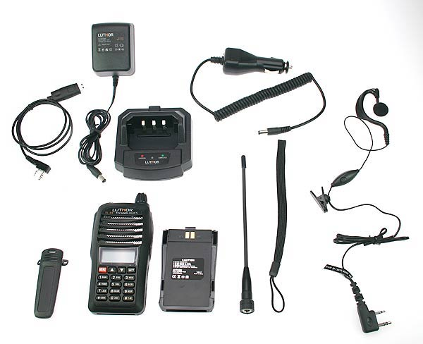 Walkie Talkie LUTHOR TL55 KIT7 DUALBAND VHF/UHF