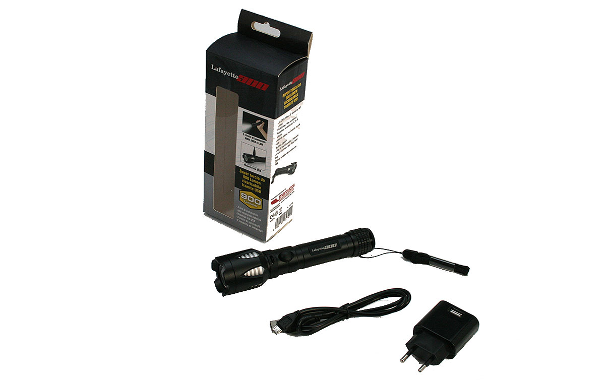 TL900 LAFAYETTE SUPER FLASHLIGHT 900 Linterna recargable 900 Lumens