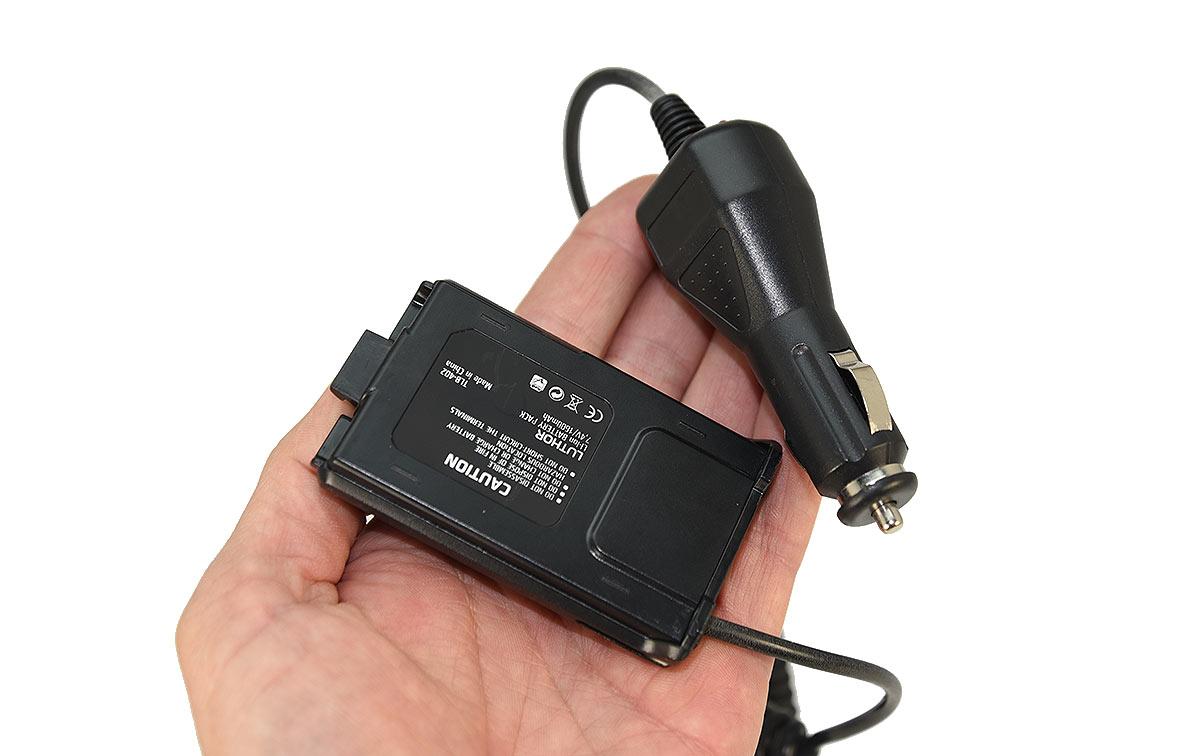 TLB432EL LUTHOR eliminador de baterias para walkie TL-22 y TL-50