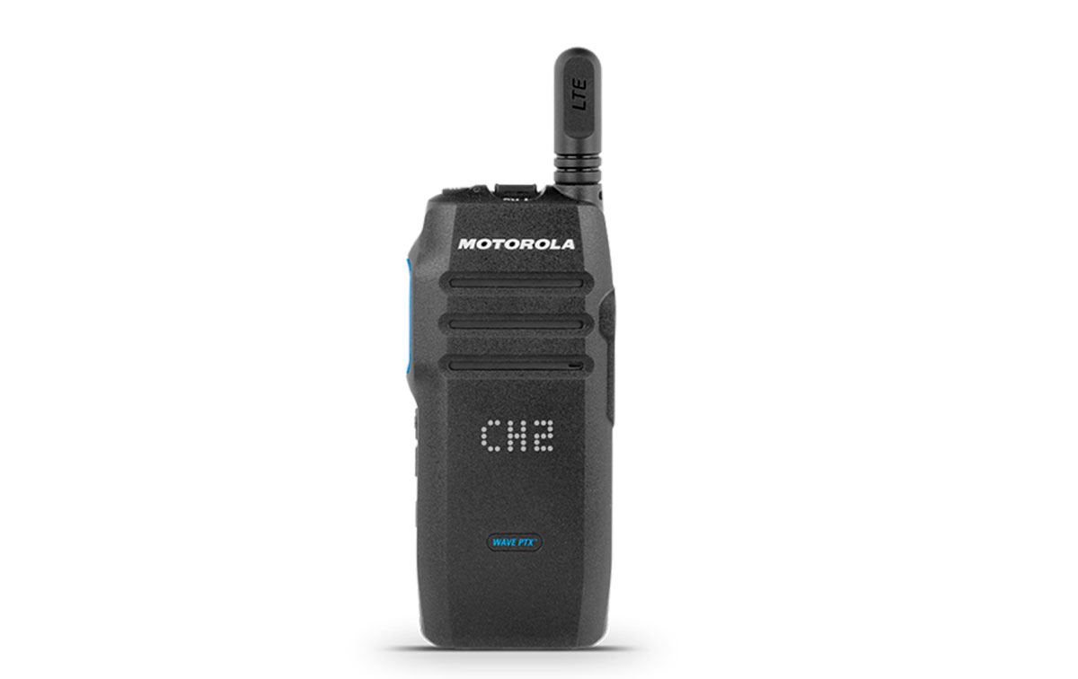 Motorola TLK-100i Walkie para Red 3G/4G, Wi-Fi, LTE