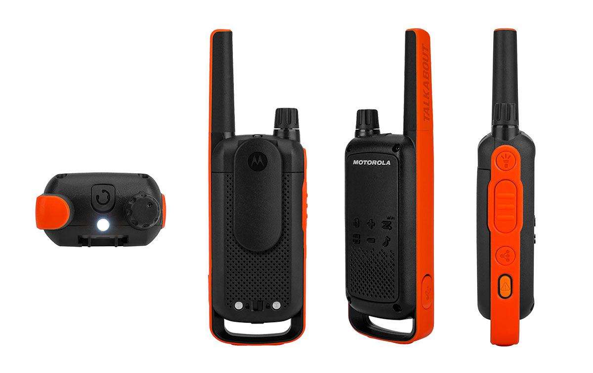 motorola tlkr t82 pareja de walkies uso libre pmr-446, motorola tlkr t82 nuevo modelo. walkie uso libre !! nuevo modelo !!. compatible todos las marca de walkies de uso libre y talkabout motorola (t5022, t5412, t5422, t5522, t5532, t5622).
