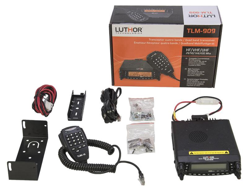 luthor tlm 909 emisora multibanda 4 bandas 29/50/144/430/ mhz