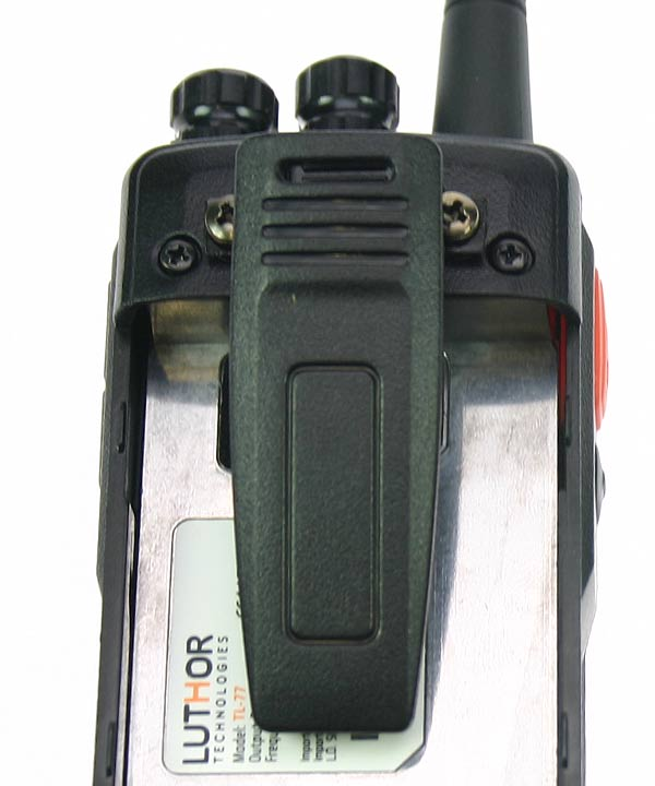 luthor tlp-477 belt clip for luthor tl-77 handheld