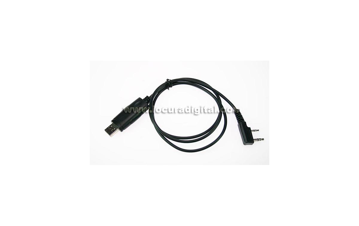 TLUSB102 LUTHOR. Cable USB para programación equipos.