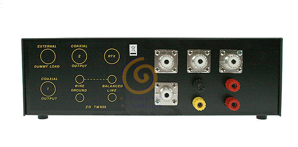 TM535 ZETAGI transmatch (acoplador de antena)   medidor de 1,5 a 30 Mhz. 500 w