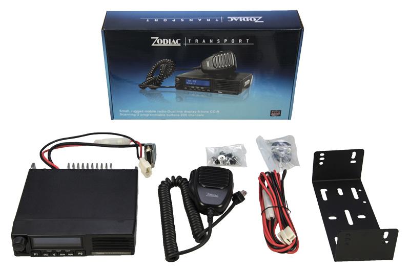 zodiac transport emisora movil 66-88 mhz.250 canales.