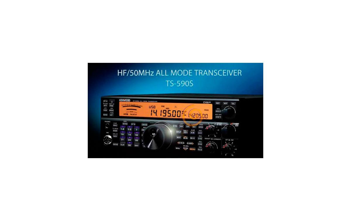 KENWOOD TS-590S Transceptor Kenwood Todo Modo HF/50MHz