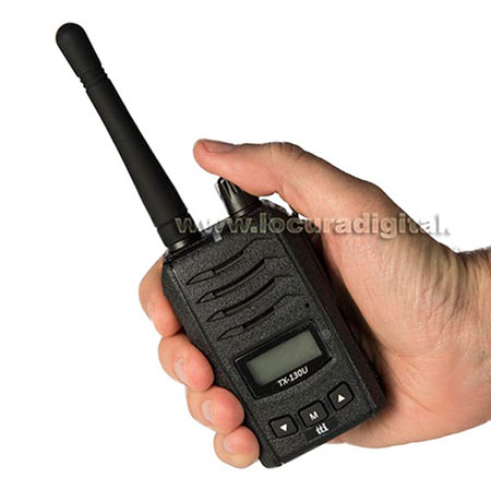 tx130u tti walkie profesional pmr 446 uso libre