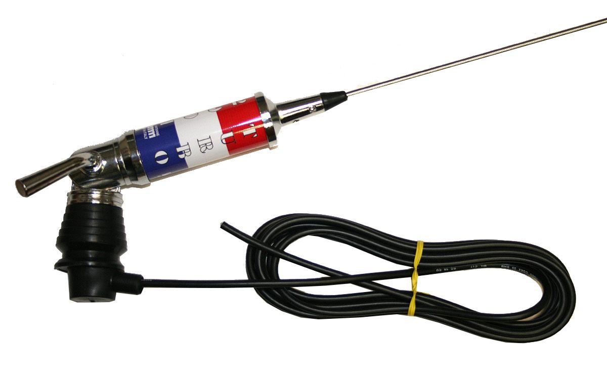 LEMMTURBO2001 bandera Francia Antena abatible CB27 mhz Longitud 200cm