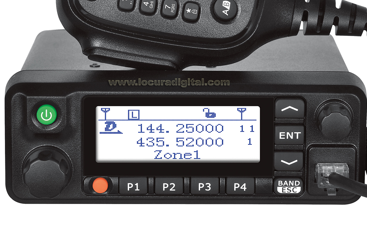 tyt md-9600 dualband analogic and digital dmr mobile transceiver