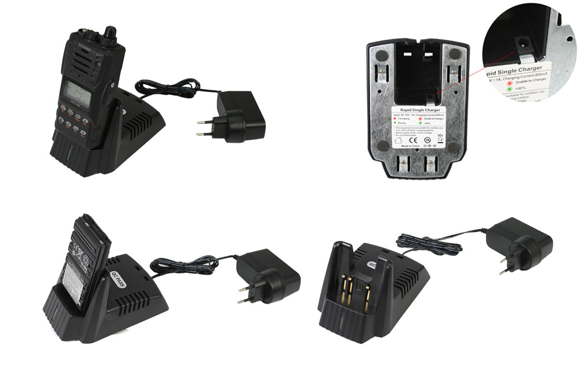 VAC-10 EQ Cargador rapido de baterias para FNB 83, FNB 64, FNBV57