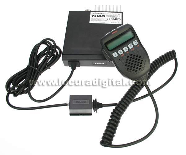 lafayette venus emisora cb 27 mhz. emisora con subtonos.