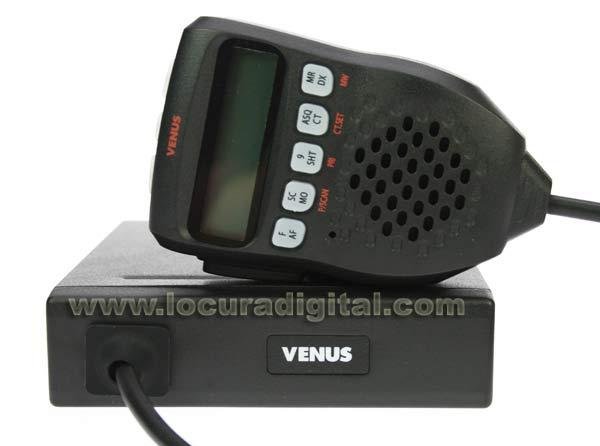 LAFAYETTE VENUS Emisora CB 27 Mhz. con subtonos.