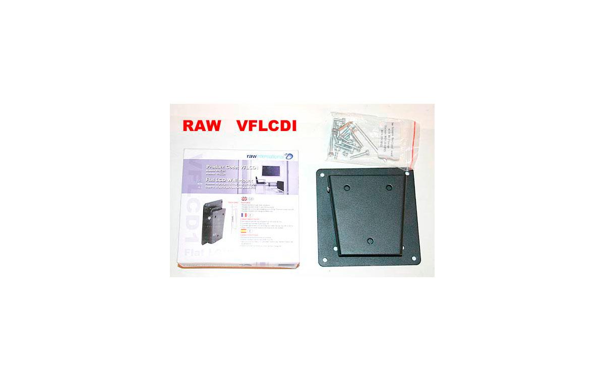 ref.DRAGO VFLCD1. Soporte fijo de pared LCD, TFT 15 a 24 pulgadas.