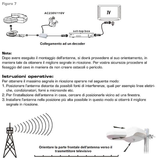 voyager lafayette antena exterior-interior tv fm-vhf-uhf. amplificada.