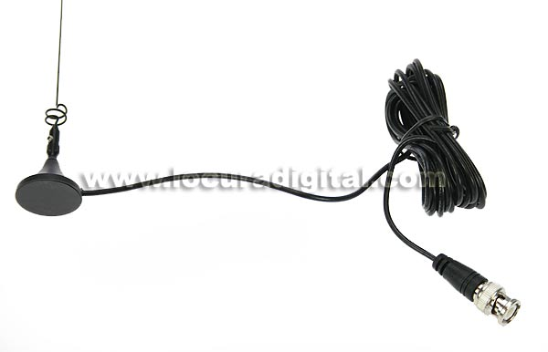 VUM201 LAFAYETTE Antena doble banda mini-magnetica conector BNC