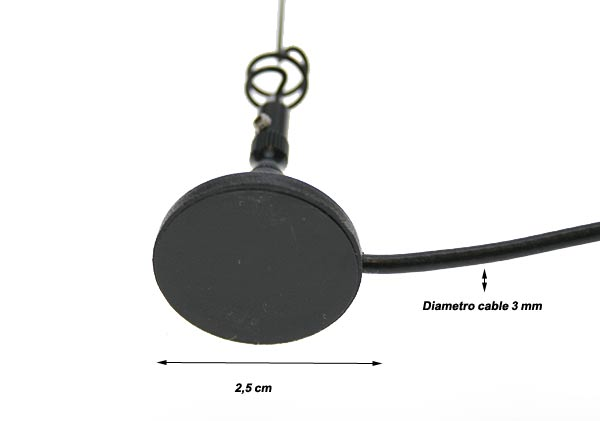 LAFAYETTE VUM201 dual-band antenna, magnetic mini BNC connector